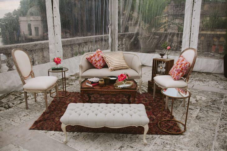 Lounge Area with Antique Furniture