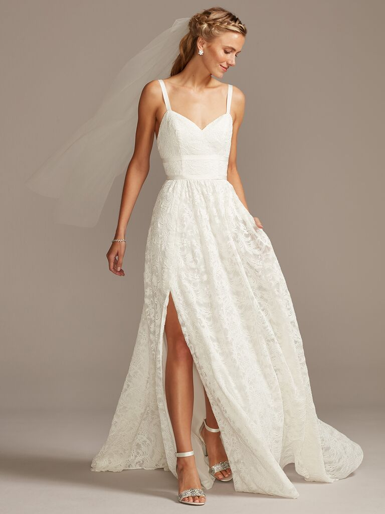 Melissa Sweet A-line wedding dress