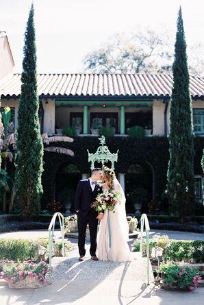 Glam, Jewel-Tone Bohemian Wedding