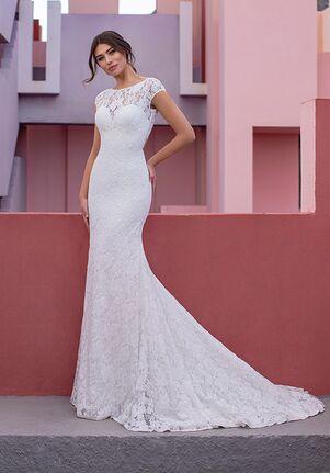 WHITE ONE ESSENTIALS BANEBERRY Mermaid Wedding Dress