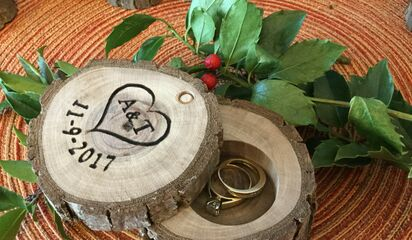 Sullivan Woodwork Natural Rustic Wedding Favors Gifts Favors