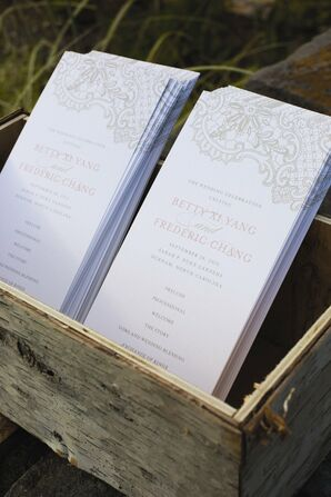 Elegant Ceremony Programs