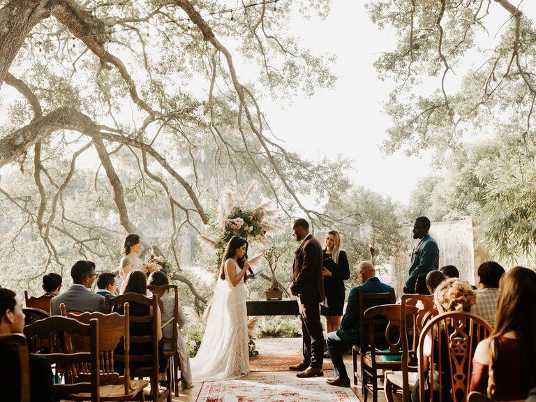Wedding venue in Davie, Florida.