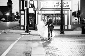 Bride and Groom Pictures Around Town