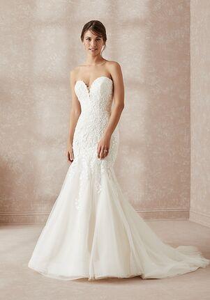 Adrianna Papell Platinum 31165 Mermaid Wedding Dress