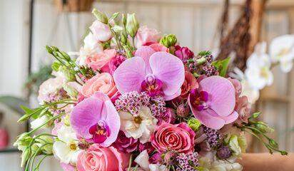 A Pretty Flower By A A Floral Arts Florists Chicago Il