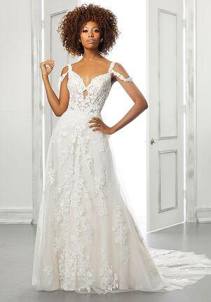 Morilee by Madeline Gardner/Blu Belina A-Line Wedding Dress