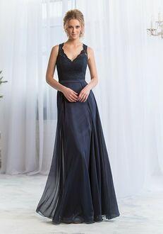 Belsoie Bridesmaids by Jasmine L164065 V-Neck Bridesmaid Dress