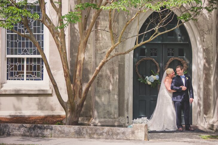 Jenna Breland (29 and a gymnastics instructor) and Joshua Geiger (30 and a mechanical engineer) were inspired by the lowcountry culture of South Carol