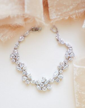 Dareth Colburn Delicate CZ Bracelet (JB-1275) Wedding Bracelet photo