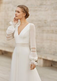 Rosa Clará Couture EIBAR Sheath Wedding Dress