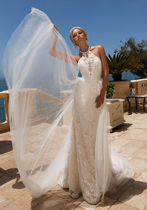 Moonlight Couture H1379 Mermaid Wedding Dress