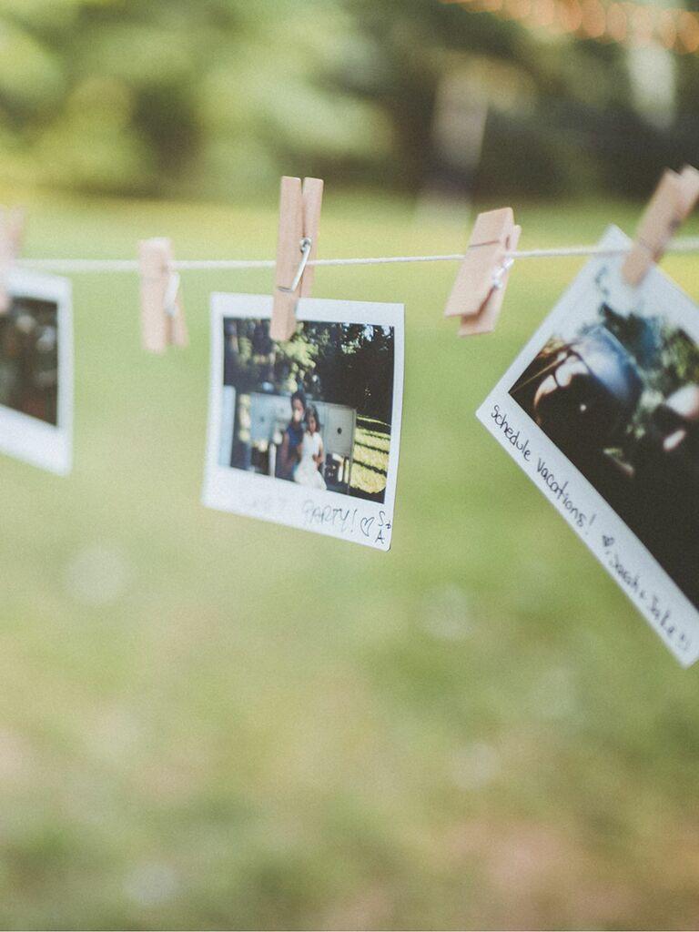 Creative Guest Book Ideas Photo