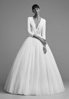 Viktor&Rolf Mariage ICED FLOWER PLISSÉ GOWN Ball Gown Wedding Dress