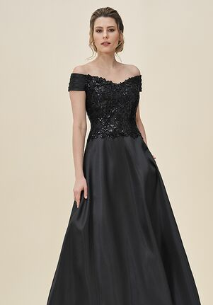 Jade J195065 Black Mother Of The Bride Dress