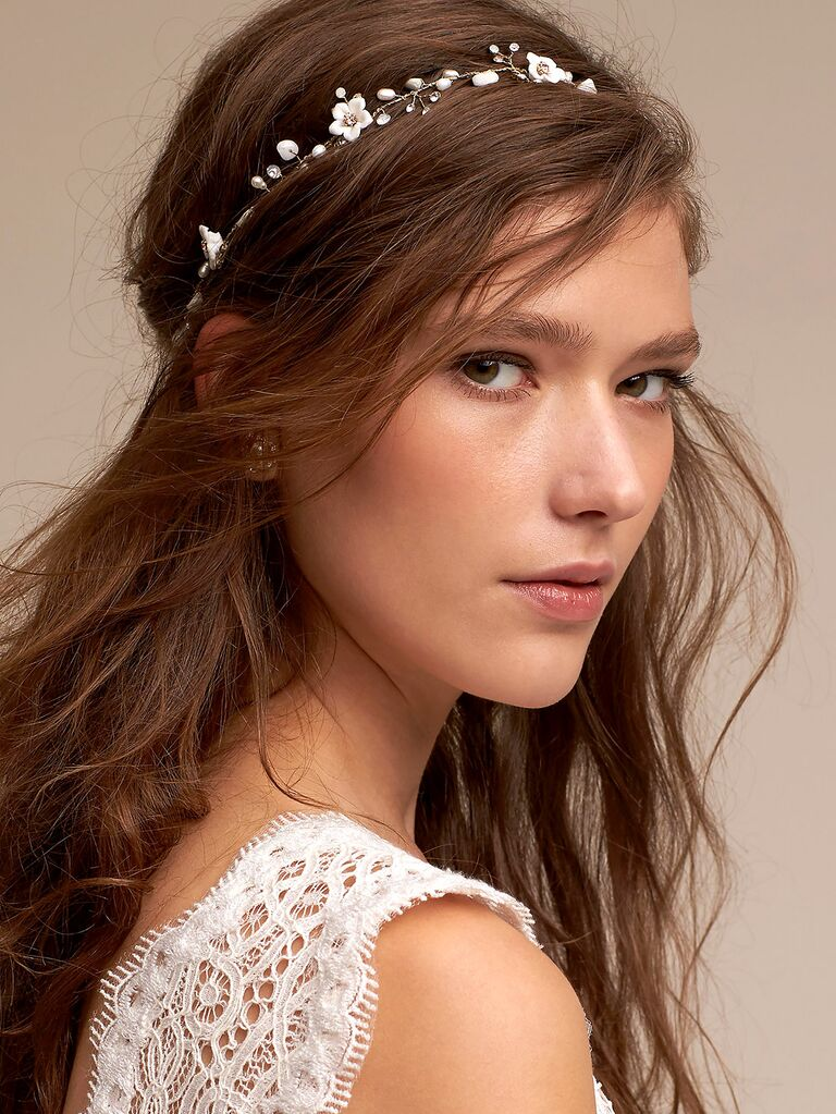 Justin Taylor Beach Bridal Hair Accessories d53c3a4947