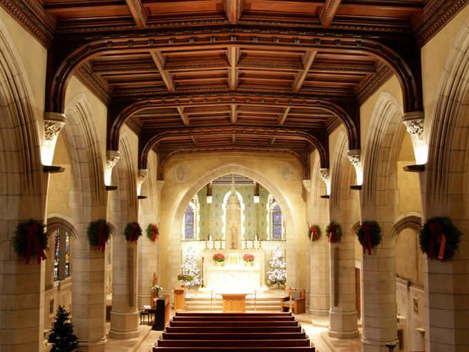 Boston College Chapel
