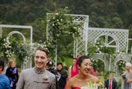 For their wedding in Zhangjiajie, China, Laurel and Mike celebrated with multiple events over the course of their wedding weekend. A barbecue welcome