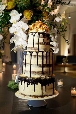 Graham Cracker and Marshmallow Wedding Cake