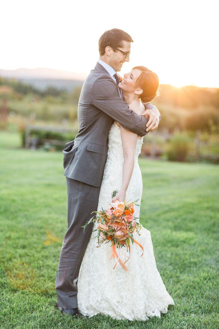 Romantic Lace A-Line Gown
