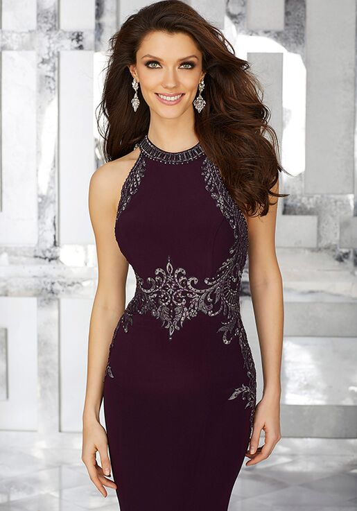MGNY 71625 Black Mother Of The Bride Dress
