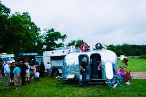 Vintage Airstream Photo Booth