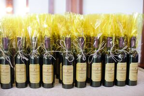 Wine Bottle Favors