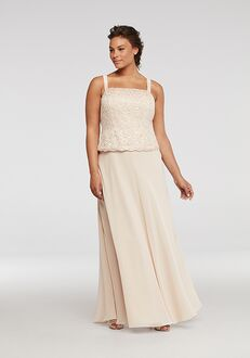 David's Bridal Mother of the Bride ES76540DB Champagne Mother Of The Bride Dress