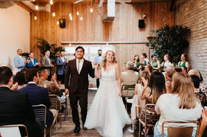 Modern, Rustic Ceremony at WithinSodo in Seattle