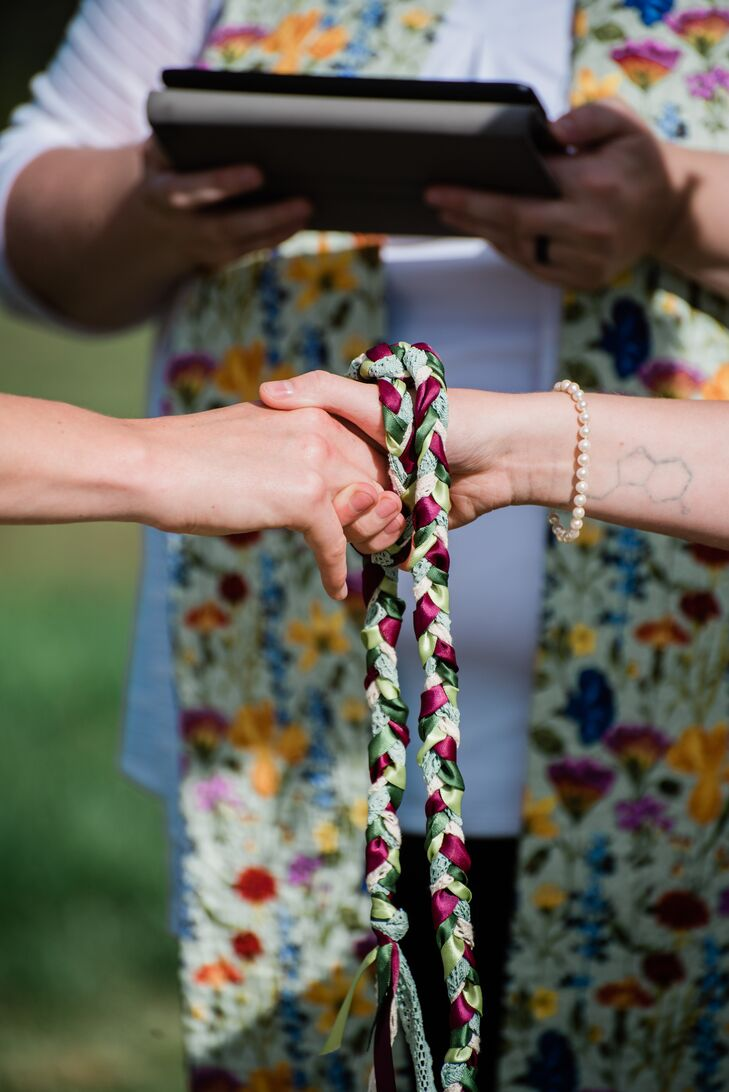 Pagan Handfasting Ceremony