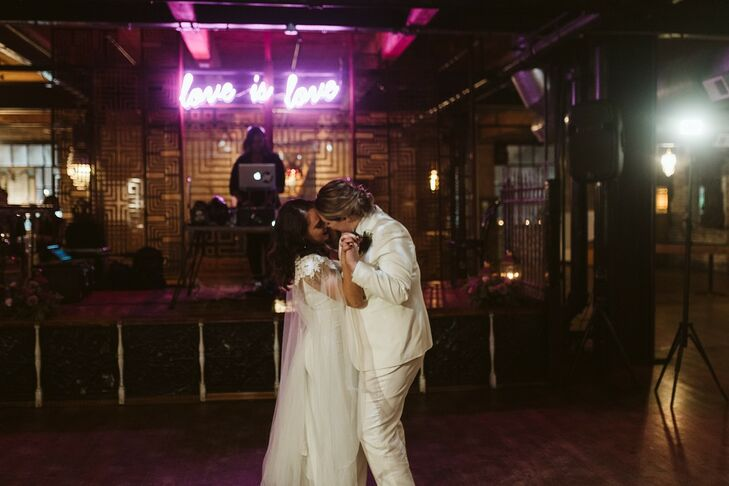 First Dance at Salvage One in Chicago