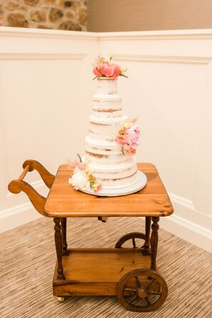 Vintage Tea Cart Cake Table