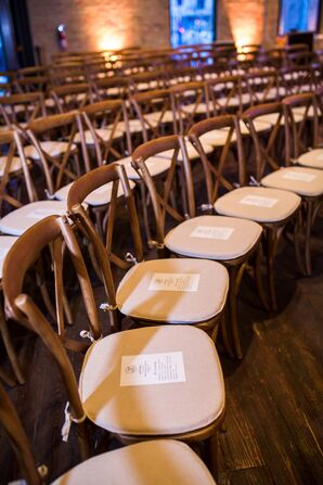 Cross-Back Chairs with Programs
