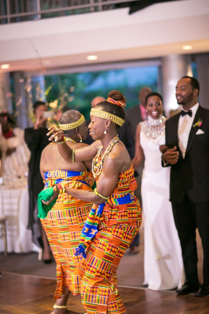 Traditional African Dancers at Reception