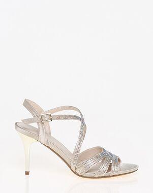LE CHÂTEAU Wedding Boutique SHOES_351985_124 Black, White, Champagne Shoe