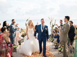 As frequent visitors of Key West who fell in love with the beach at the Casa Marina Resort, Kara Kendrick (26 and a personal trainer) and Trey Quirk (
