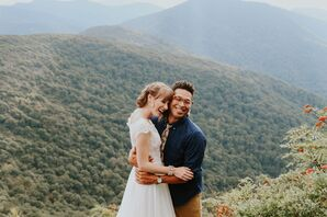 Simple Mountain Elopement