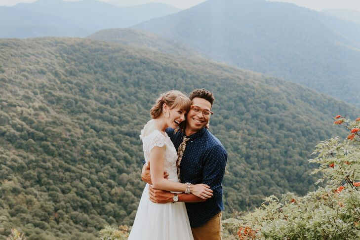 """Christian Lemons (28 and a photographer) and Jeremy Salig (32 and a chef) met """"serendipitously,"""" as she describes it, through their shared affinity fo"""