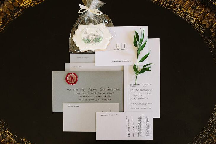 Simple Neutral Wedding Invitations
