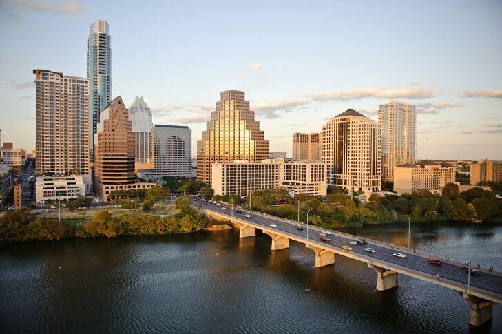 View from Hyatt Regency Austin