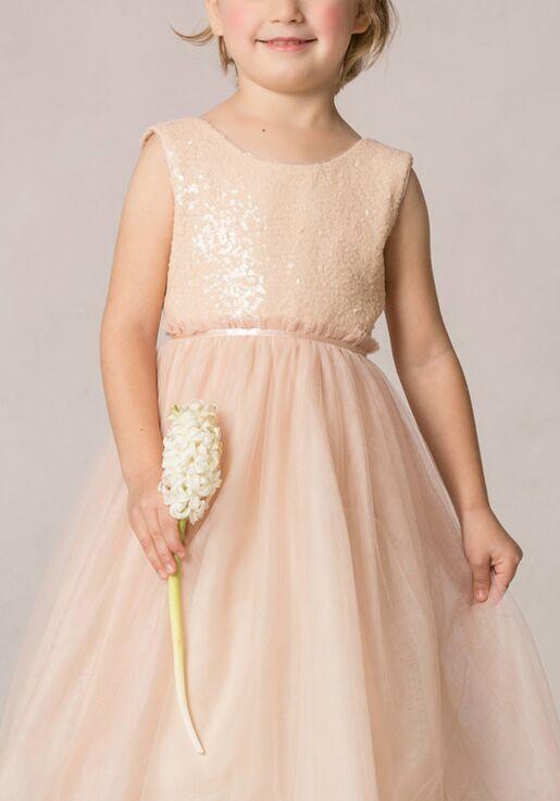 Jenny Yoo Collection (Maids) Rosalie Flower Girl Dress