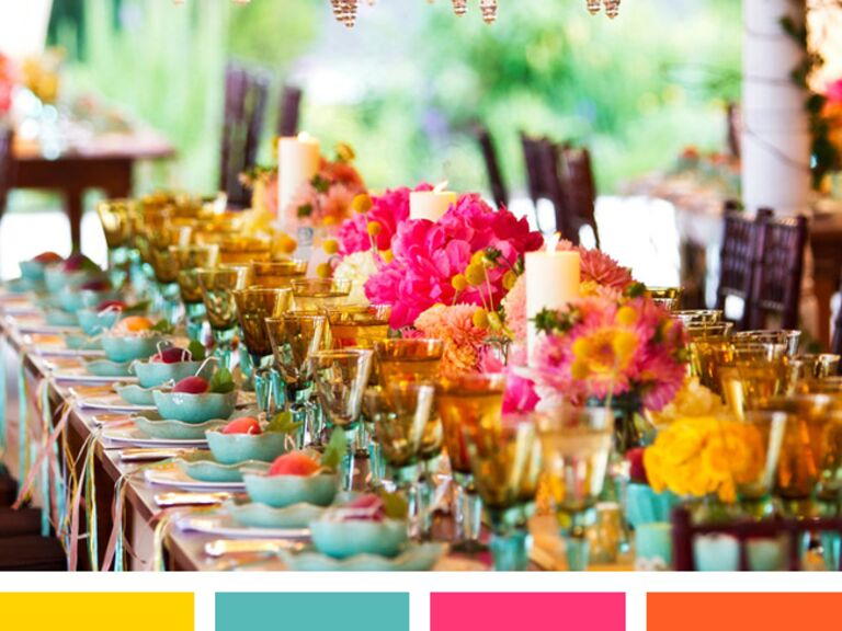 New Wedding Color Combinations