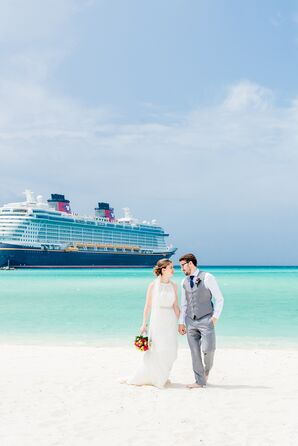Modern Couple with Disney Cruise Line