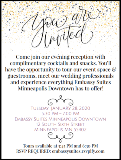 NEW MPLS VENUE - Downtown Embassy Suites