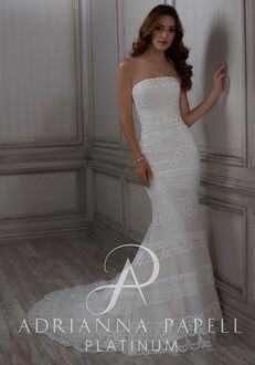 Adrianna Papell Platinum Luella Mermaid Wedding Dress