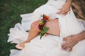 Floral Bridal Garter