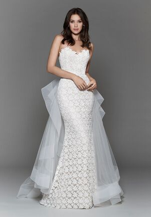 Tara Keely by Lazaro 2701 Sheath Wedding Dress