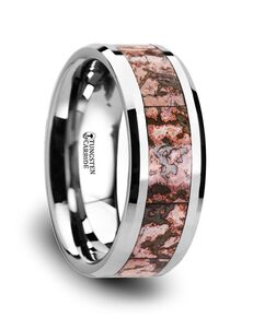 Mens Tungsten Wedding Bands C3811-TCDB Tungsten Wedding Ring