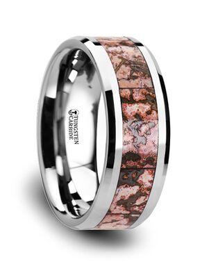 Mens Tungsten Wedding Bands C3811-TCDB Tungsten Wedding Ring