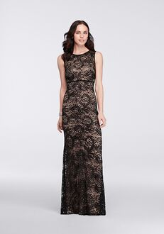 David's Bridal Mother of the Bride 21346 Black Mother Of The Bride Dress